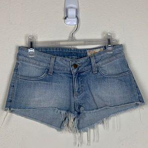 Siwy Denim- Camilla Slouchy CutOff Shorts size 26